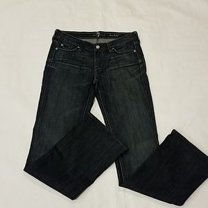 7 for all mankind bootcut Jean's sz 27